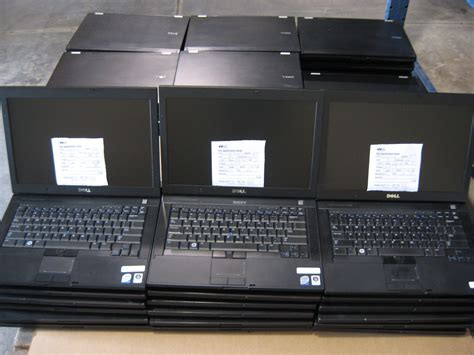 Desk Top Computers For Sale Lots Of Laptops Pallets Of Dell E6400 Laptops