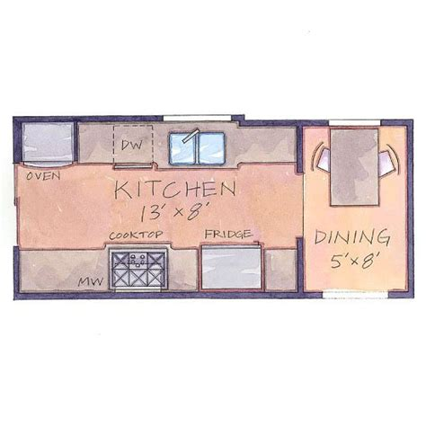small galley kitchen floor plans our favorite small kitchens that live large small