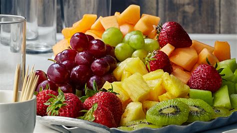 fruits for christmas party fresh fruit platters in store the fresh market the fresh market