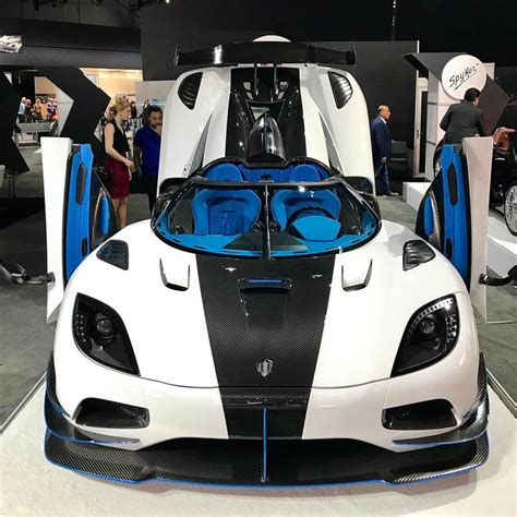 white koenigsegg one 1 exotic koenigsegg agera rs1 at the new york auto show