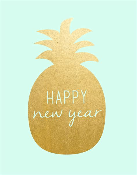 new year pineapple decoration new year printables gold pineapple and resolutions