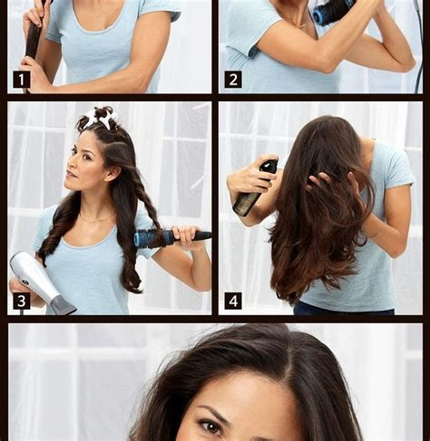 how to section your hair for blow drying how to blow dry your hair the right way alldaychic