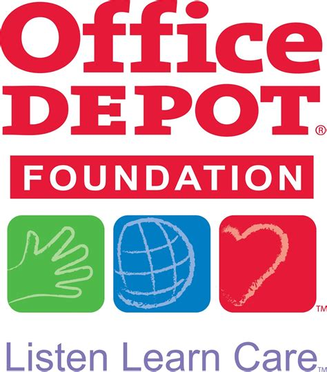 Office Depot Foundation bless their hearts office depot cares about