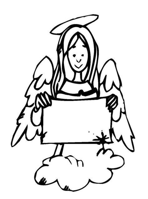 Zettel Drucken by Ausmalbild Weihnachten Engel Mit Zettel Kostenlos Ausdrucken