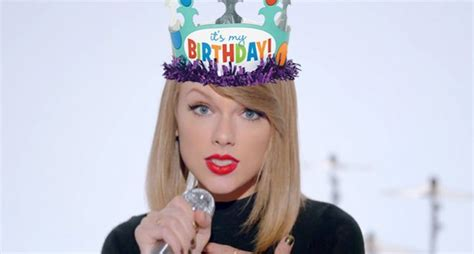 Gifts Taylor Swiftnts For Her B Day Based On Her