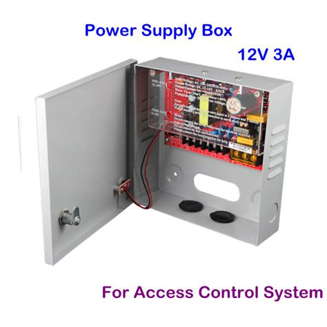 Power Suply Travo Cctv 12 Volt 2 Er easily operation cctv 12 volt dc 3a access system power supply box free shipping in cctv