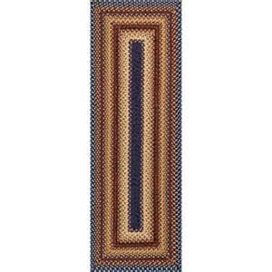 jcpenney runner rugs reversible braided indoor outdoor runner rug jcpenney
