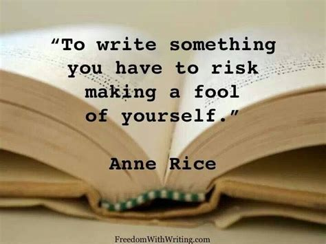 writing to be published and read books quot to write something you to risk a fool of