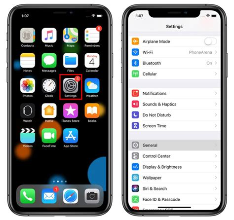 enable  disable auto brightness  iphone xs max