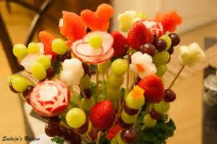 edible arrengements sailaja s recipes diy fruit bouquet edible arrangements