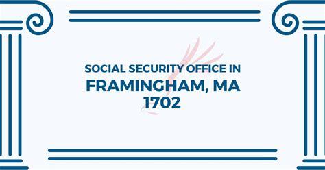 social security office in framingham massachusetts 01702