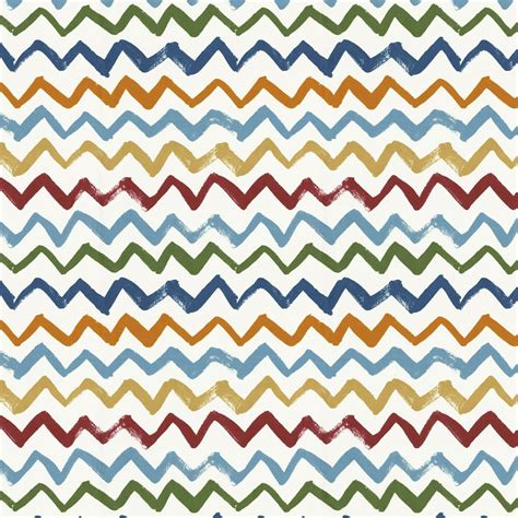 zig zag painted zig zag fabric by the yard red fabric carousel