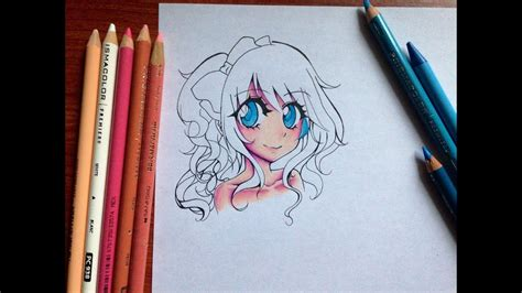 how to color with colored pencils tutorial how to color skin and with colored