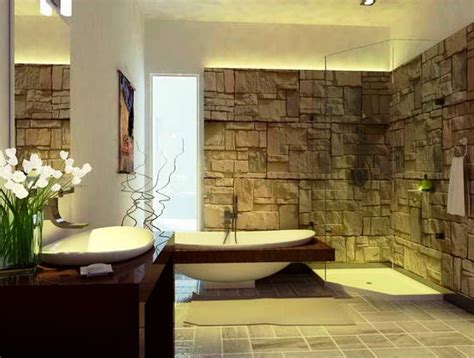 bathroom wall ideas 23 natural bathroom decorating pictures