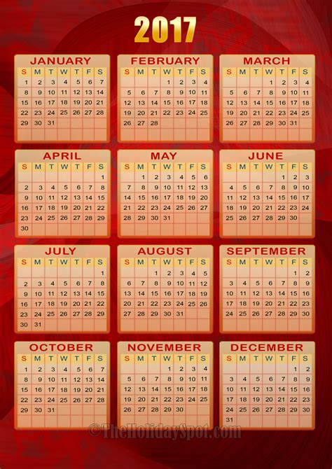 printable 72 months 2 page calendar 2015 2020 5 1 x 8 throughout 6