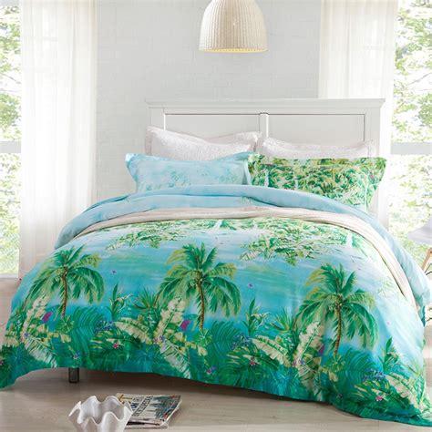 Elegant Tropical Bedding Linen Derektime Design Tropical Bedding Sets