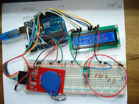 tutorial arduino rfid arduino rfid rc522 project aansluiten meterkast schema