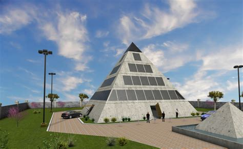 pyramid shaped home plans house design ideas