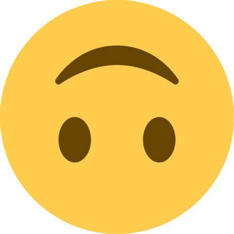 upside  face emoji copy paste  meaning images