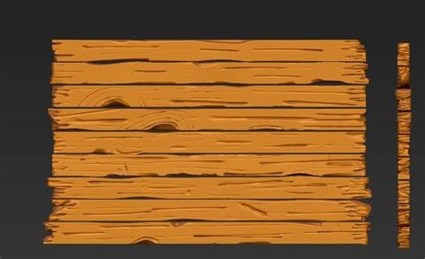 zbursh wooden planks 3d zbrush wood planks cgtrader