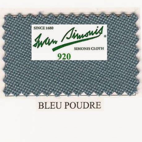 Tapis Billard Simonis by Kit Tapis Simonis 920 7ft Powder Blue Jeux Bmv