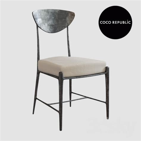 3d Models Chair Coco Republic Ray Dining Chair Coco Republic Dining Chairs