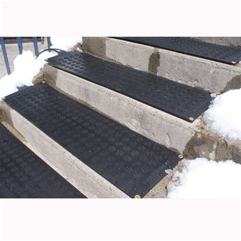 Hotflake Outdoor Heated Stair Mat At Brookstone Buy Now Outdoor Cing Mats Rugs