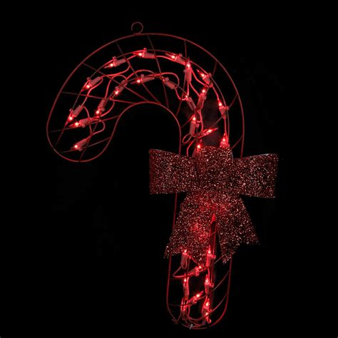 illuminated red bow window silhouette 19 quot lighted with bow window or wall silhouette dec tanga