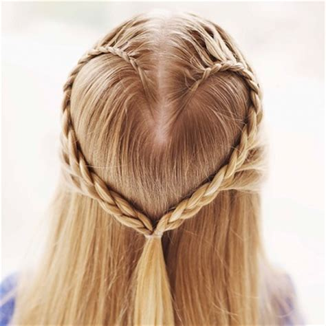 braided hairstyles heart blog the famous heart braid step by step socozy