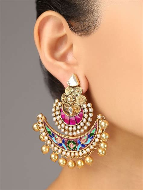 25  best ideas about Indian Earrings on Pinterest   Tribal