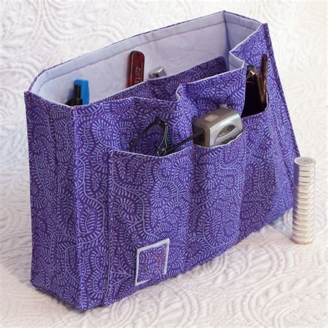 tote bag organizer insert pattern pdf sewing pattern purse organizer insert