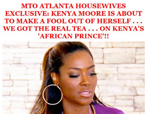 kenya moore s african prince is d banj tamara tattles d banj set to appear on real housewives of atlanta as