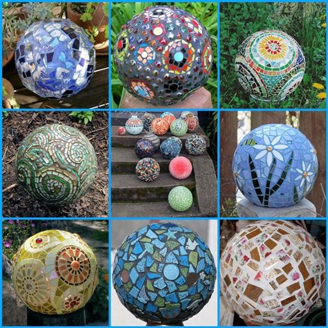 Mosaic Garden Ideas Diy Garden Ideas Garden Mosaic Bowling And Mosaics