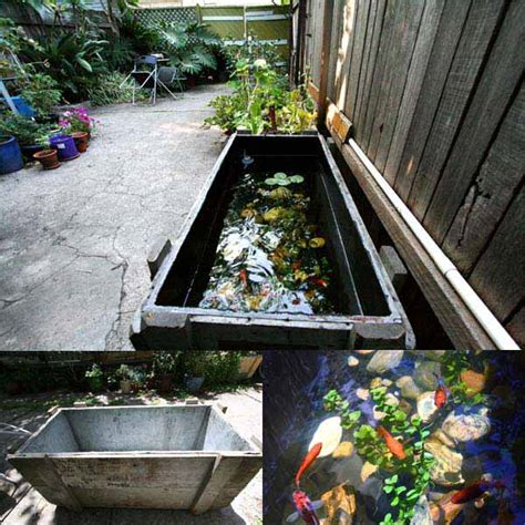 backyard aquarium 22 small garden or backyard aquarium ideas will blow your