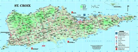 st croix us islands map caribbean pictures