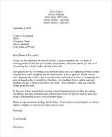 Sample Business Apology Letter Customer For Delay sample apology letter for delay of refund