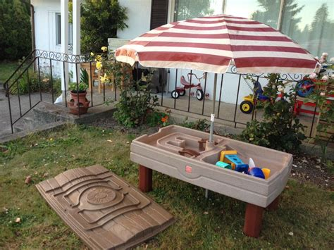Step 2 Water Table With Umbrella by Step 2 Naturally Playful Sand Water Table With Umbrella
