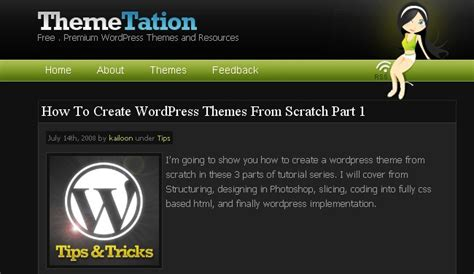 tutorial wordpress theme from scratch 19 detailed wordpress theme development tutorials to help