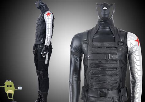 captain america winter soldier bucky costume for
