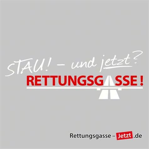 Aufkleber Rettungsgasse by Textsticker Stau Und Jetzt Rettungsgasse
