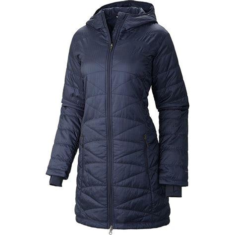 columbia women s morning light omni heat long jacket coat puffer new columbia morning light omni heat hood long women s