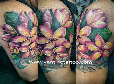 henna tattoos ubud best 20 plumeria ideas on small