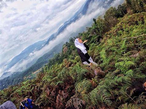 Karpet Gunung puncak tebal dengan awan karpet bukit senaling pastinya jadi port terbaru buat hikers