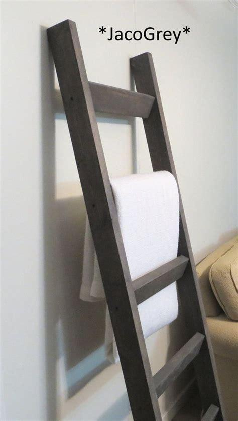 blanket ladder diy for flat pinterest 6 ft blanket ladder rustic pine wood blanket by