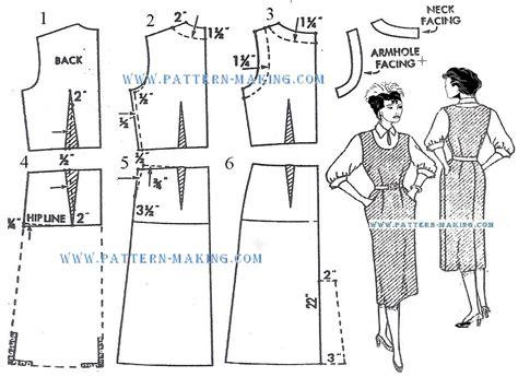 pattern making gown drafting the jumper dress pattern making com