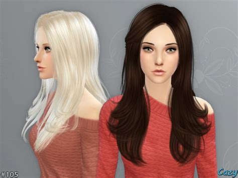 sims 4 custom content hairstyles starlight hair by cazy at tsr 187 sims 4 updates