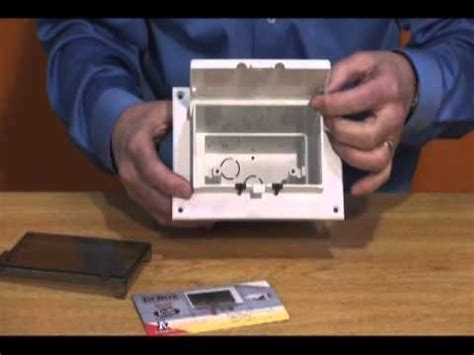 outdoor outlet box installation guide youtube