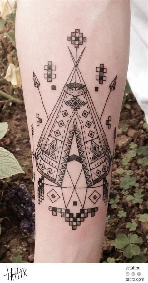 navajo pattern tattoo native american tattoos top 100 for the free spirited