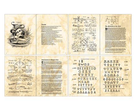 Harry Potter Spells Printable