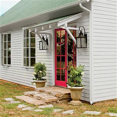 Small Awning Back Door by Overhang Entranceways And Overhangs